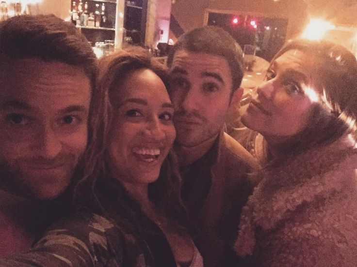 a_blanchet: Darren and Mia's new piano bar in Hollywood @trampstampgrannys. What a night tho…❤️❤️