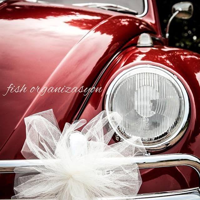 Organizasyon süslemekten ibaret değildir !! #düğün #wedding #gelinarabası #vosvos #beetle #VW #vscocam #red #kırmızı #volkswagen #Aşk #love #organizasyon #profesyonelnedime #gelin #damat #düğünarabası #fishorganizasyon #picoftheday #hayal #masal #mutluson #izmir #nişan #bekarlığaveda #profesyonelyardım #nedime #designyourday #photooftheday