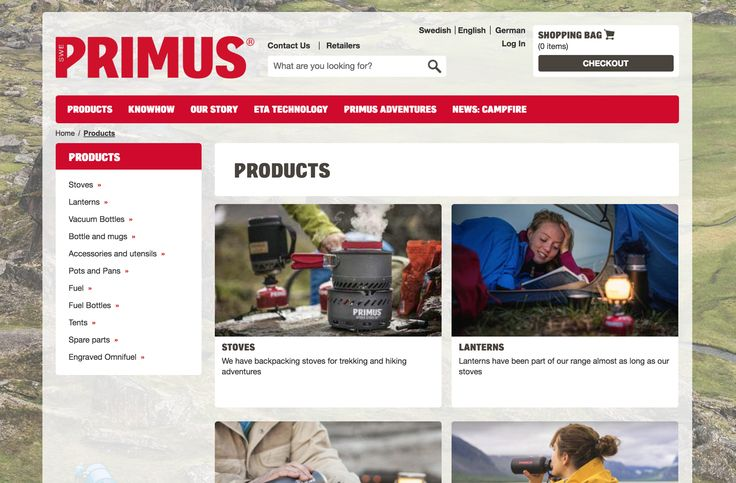 In 2014 we launched an online store!