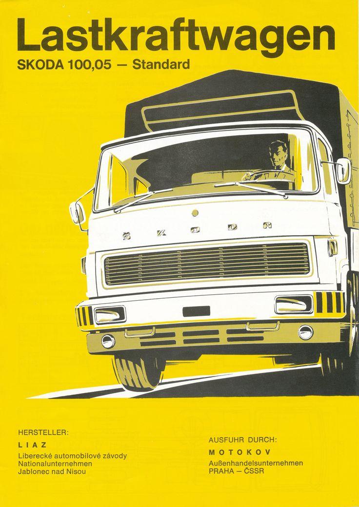 LIAZ Flyer SKODA 100.05 (1974) | Flickr - Photo Sharing!