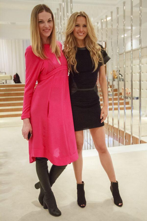 Supermodels Pavlina Nemcova and Petra Nemcova during Harper's Bazaar Prague Fashion Night  photo Credit: Benjamin Vales