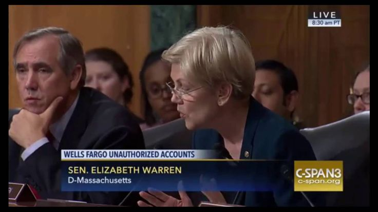 "Elizabeth Warren DESTROYS Wells Fargo CEO For Unauthorized Accounts ""YOU..."