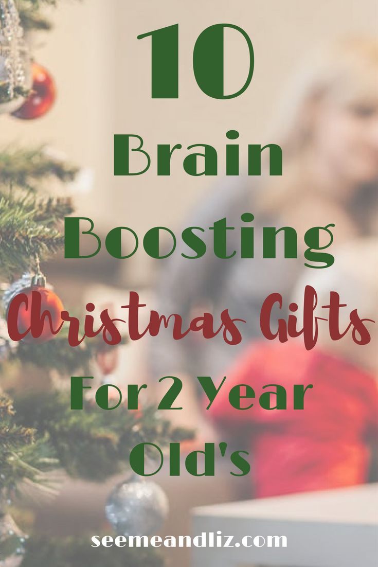 10 Brain Boosting Christmas Gift Ideas For 2 Year Old's. Click to see the list and find out how each toy can help with your toddler's development.