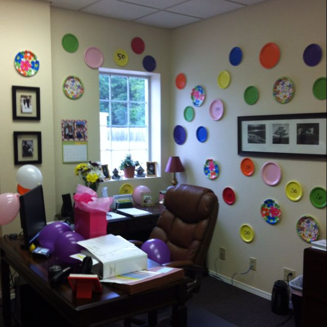 12 best Office Birthday Decorations images on Pinterest Office