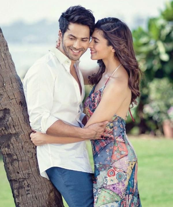 These pictures of Varun Dhawan and Alia Bhatt from Filmfare's photoshoot prove their undeniable chemistry!   PINKVILLA