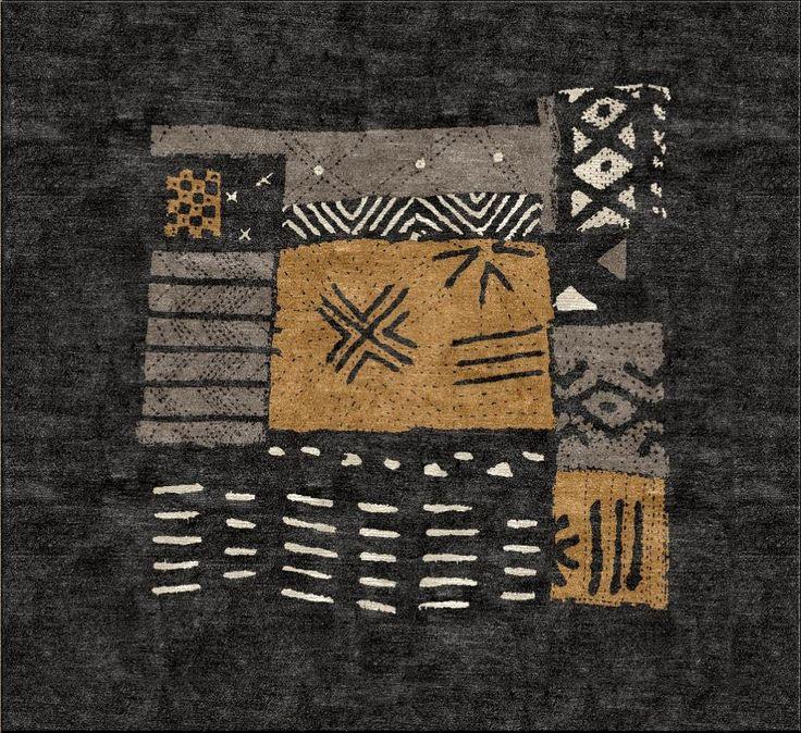 Mudcloth African Custom Area Rug Design Your Own At Www Highcountryrugs
