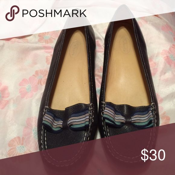Talbots navy blue loafers very comfortable Comfortable navy loafer Talbots Shoes Flats & Loafers