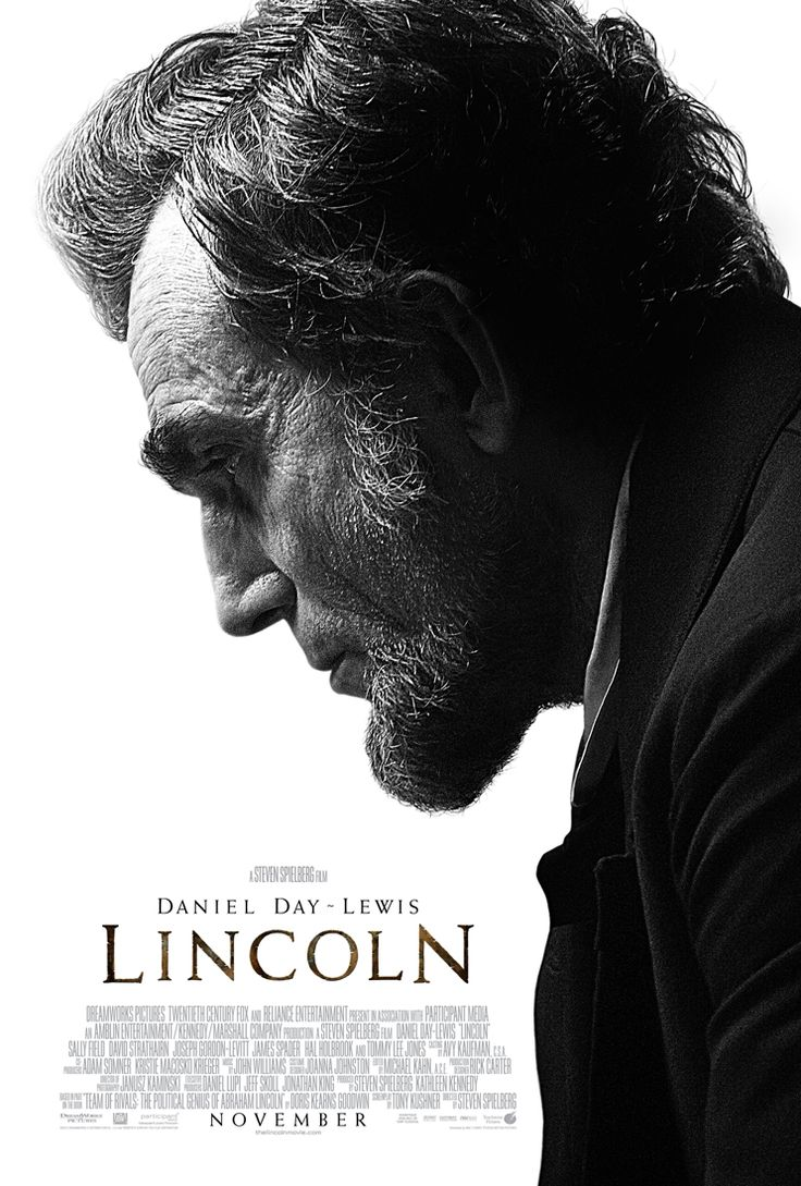 Daniel Day Lewis as Lincoln Movie Poster