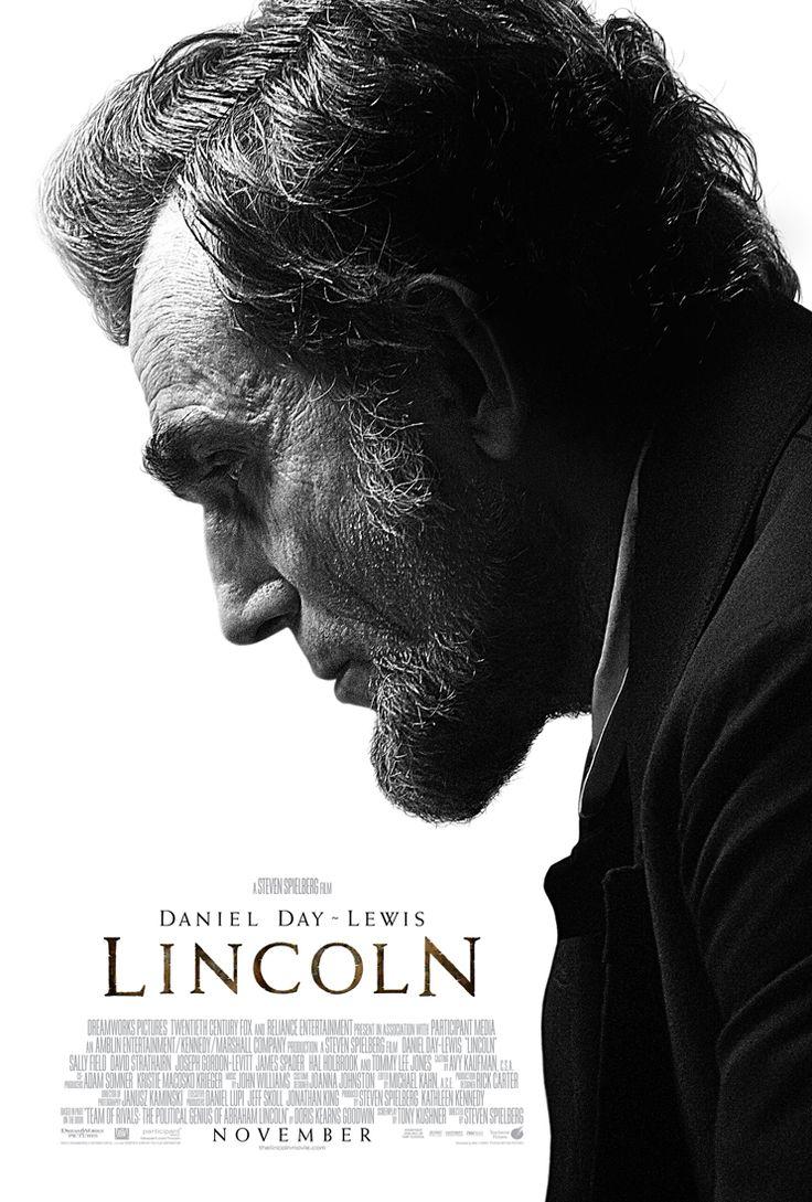 Lincoln est un film historique américain produit et réalisé par Steven Spielberg, sorti en 2012 avec Daniel Day-Lewis.