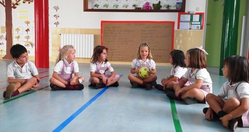 Trabajo Cooperativo en Aixa Infantil.