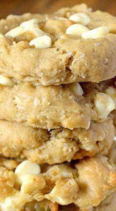 Coconut Cream Cheese White Chocolate Chip Cookies Recipe