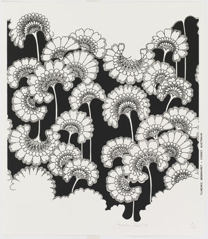 Japanese Floral by Florence Broadhurst