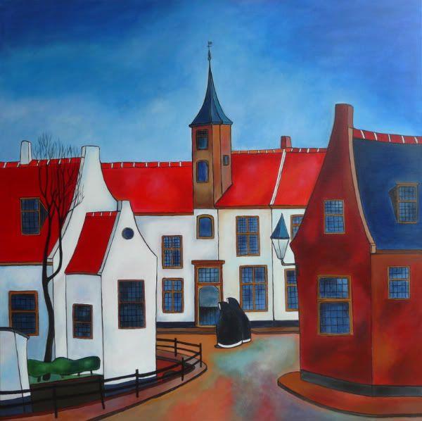 Toon Tieland (1919-2006) was een Nederlands kunstschilder. Hij schilderde in een persoonlijke stijl die naïef expressionistisch wordt genoemd. Invloeden waren de schilders van Sint-Martens-Latem en Paul Gauguin. Hij putte inspiratie uit zijn geboortestad Amersfoort, het plattelandsleven, zijn katholieke geloof.
