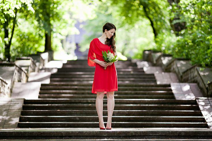 Ubrana nie przebrana w sukience #danhen #wiosnalato #2014 #moda #styliacje