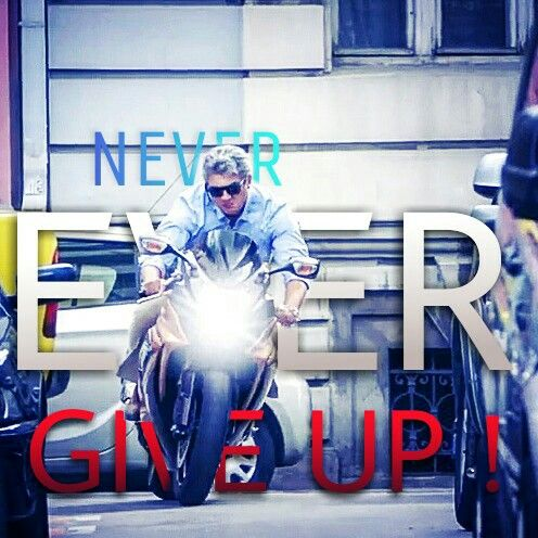 Never Ever Give up!!!! #ThalaAjith #Vivegam #Ultimatefury