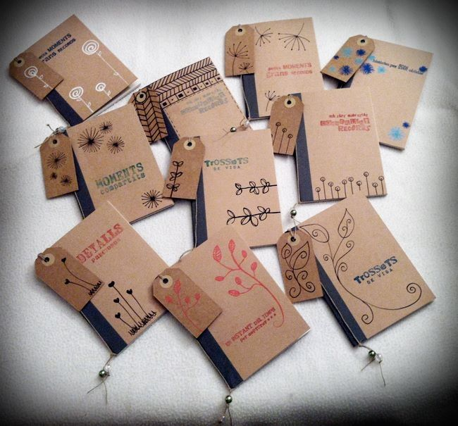 Llibretes personalitzades | libretas personalizadas | customized notebook