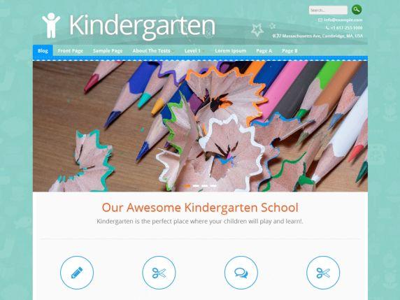 Kindergarten — Free WordPress Themes