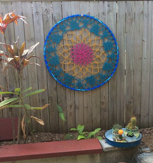Ravelry: Mandala Dream Catcher pattern by Naztazia