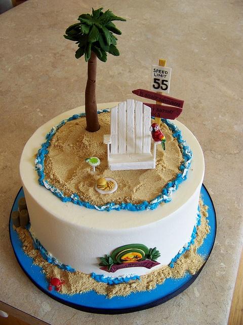 Jimmy Buffett Cake by Erin Salerno, via Flickr