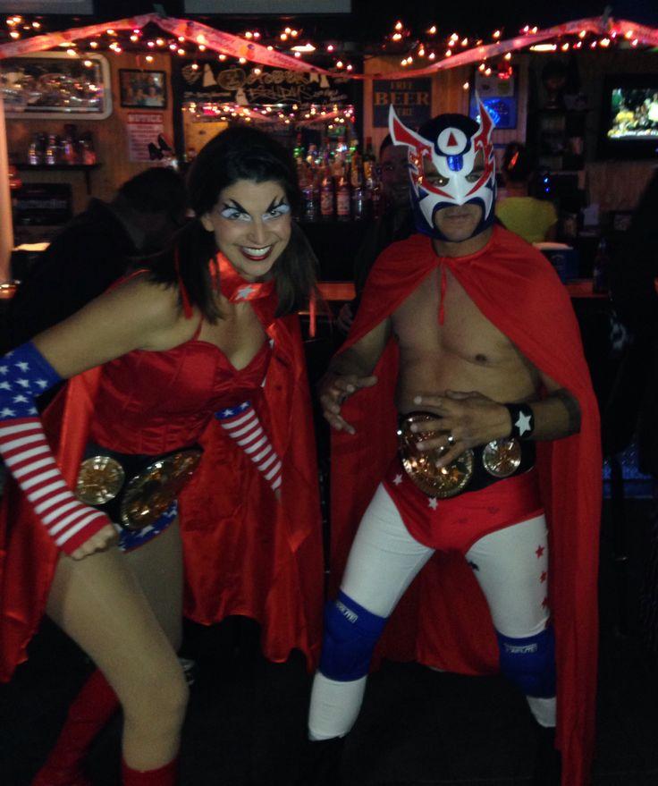 diy luchador halloween costume lucha libre costume pro wrestling costume - Triple H Halloween Costume