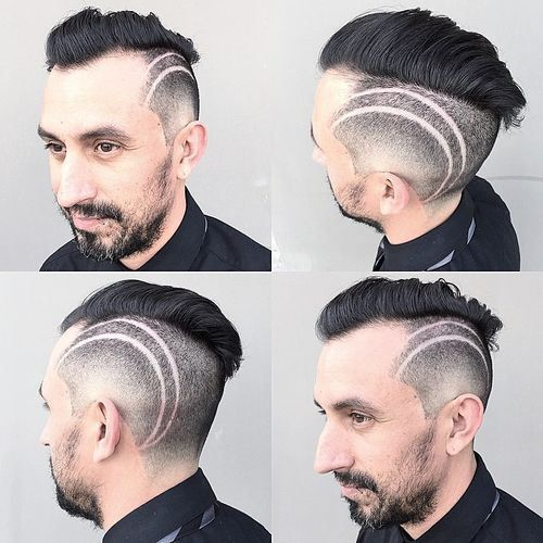 25 Cool Haircuts For Men Ideas: Best 25+ Shaved Head Designs Ideas On Pinterest
