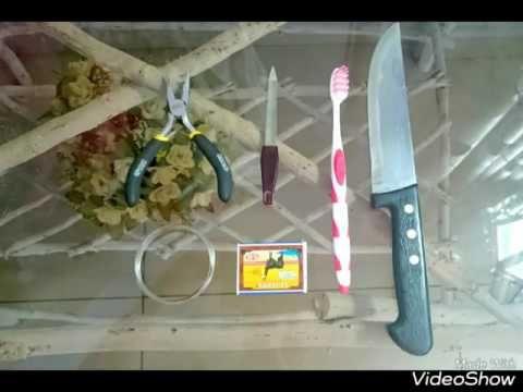 Как сделать иглу для тамбурной вышивки (Люневильский крючoк) в домашних условиях - YouTube
