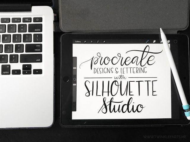 How To Use Ipad Pro And Procreate Designs With Silhouette Studio
