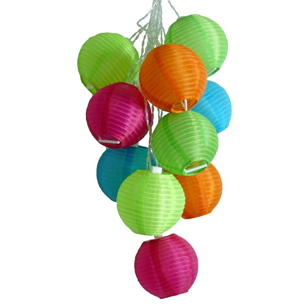 Allsop Tropical Fruit Solar String Lights Outdoor and Patio Decor Watch as these Soji Solar String Lights turn themselves on when darkness falls, for an inspiring