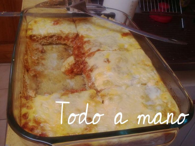 Ingredientes:   2 tazas de quinua  150 gr de queso gouda en Chile y Chaqueño en Bolivia  1/2 kilo de carne molida o picada  1 cebolla grande...