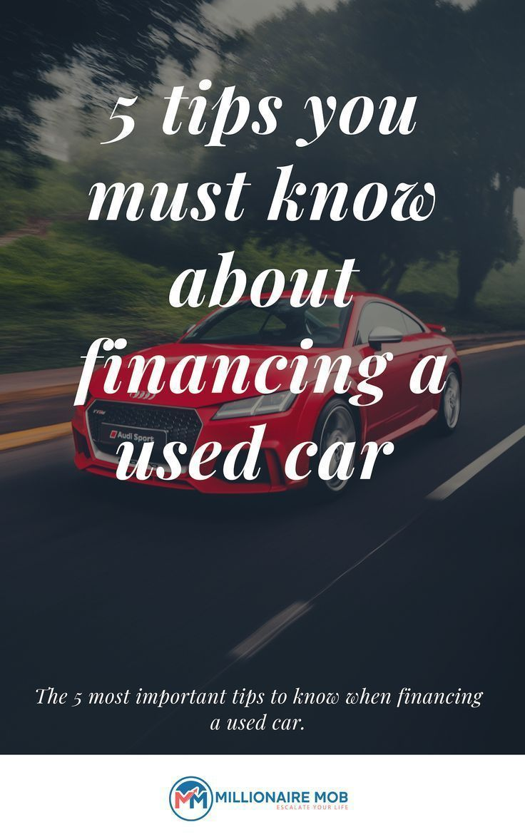 How To Finance A Used Car From A Private Seller Finance Money