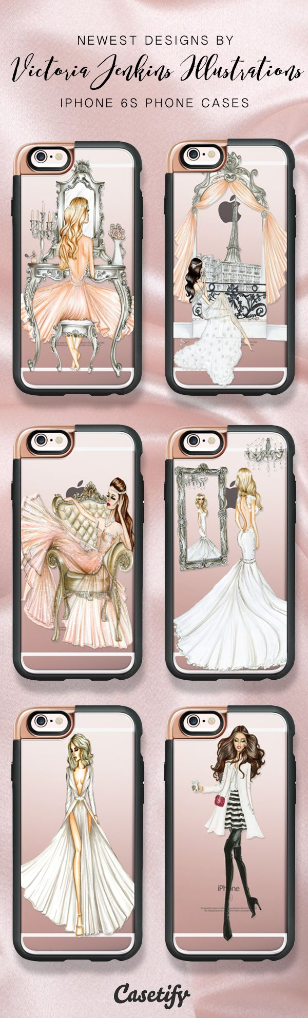 Check these newest designs by Victoria Jenkins Illustrations. Shop these iPhone 7 phone cases here >> https://www.casetify.com/victoriajenkinsillustrations/collection