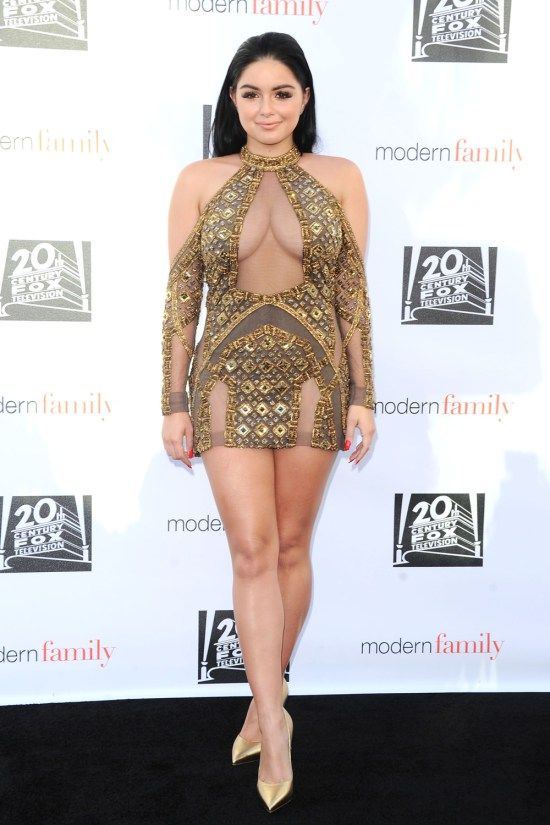Ariel Winter at the Modern Family Finale Screening Straight From Her Casino Shift