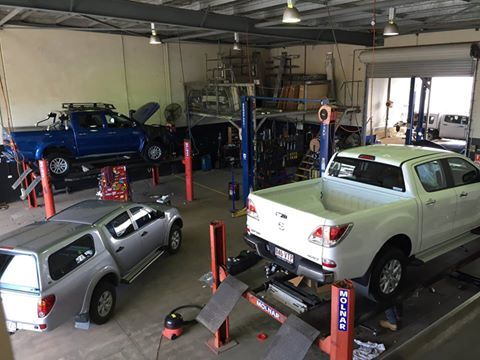Doing what we love. Making our customers happy in our Cairns Workshop. Can you spot the boots?