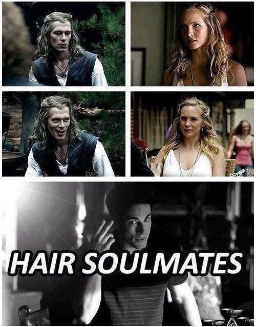 """This truth about Klaus and Caroline. 