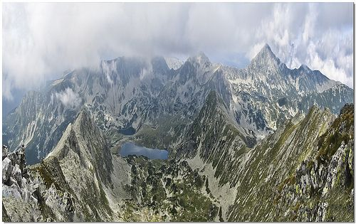 Pelega Peak, Retezat Mountains.