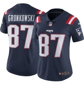 Women's Color Rush 2016 Limited Jersey New England Patriots Rob Gronkowski #87