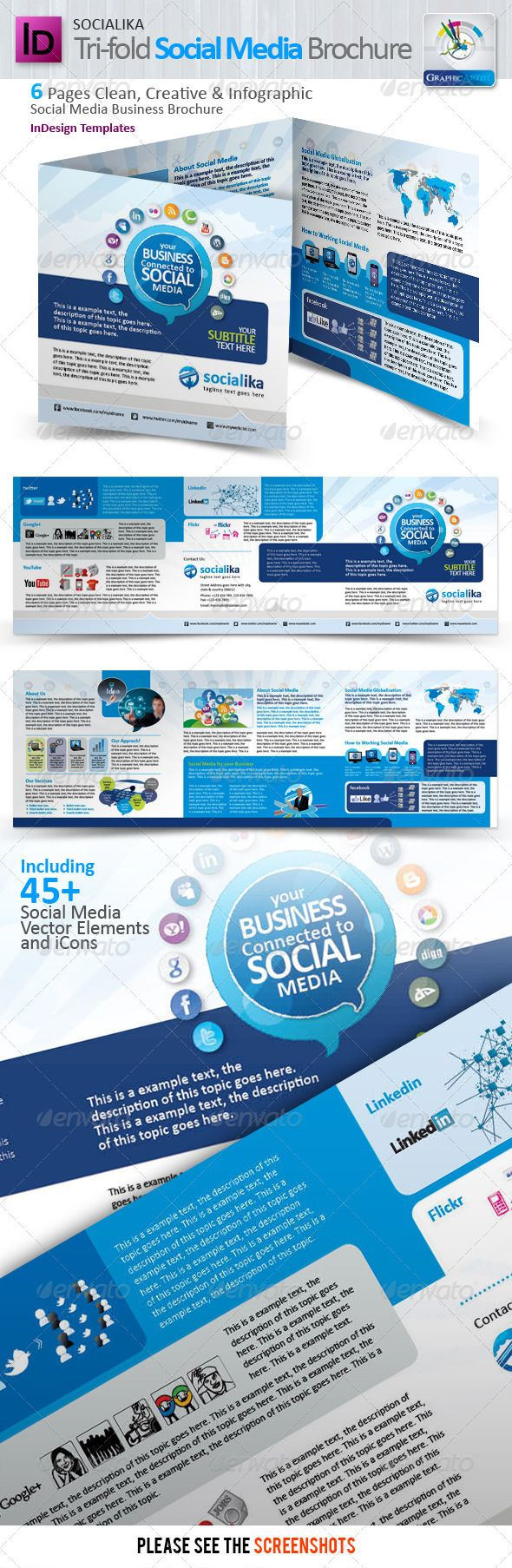 social media brochure template - the 25 best business proposal sample ideas on pinterest