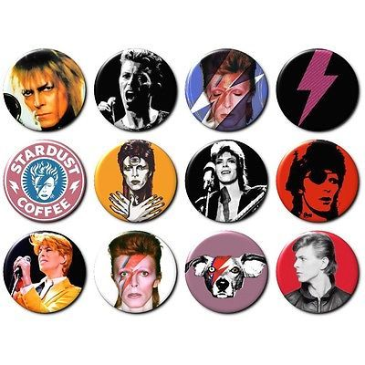 12x DAVID BOWIE Button Badges Ziggy Stardust Vinyl Rock CD Music Glam 70's NEW for GBP4.99 #Collectables #Badges/ #Patches #Stardust Like the 12x DAVID BOWIE Button Badges Ziggy Stardust Vinyl Rock CD Music Glam 70's NEW? Get it at GBP4.99!