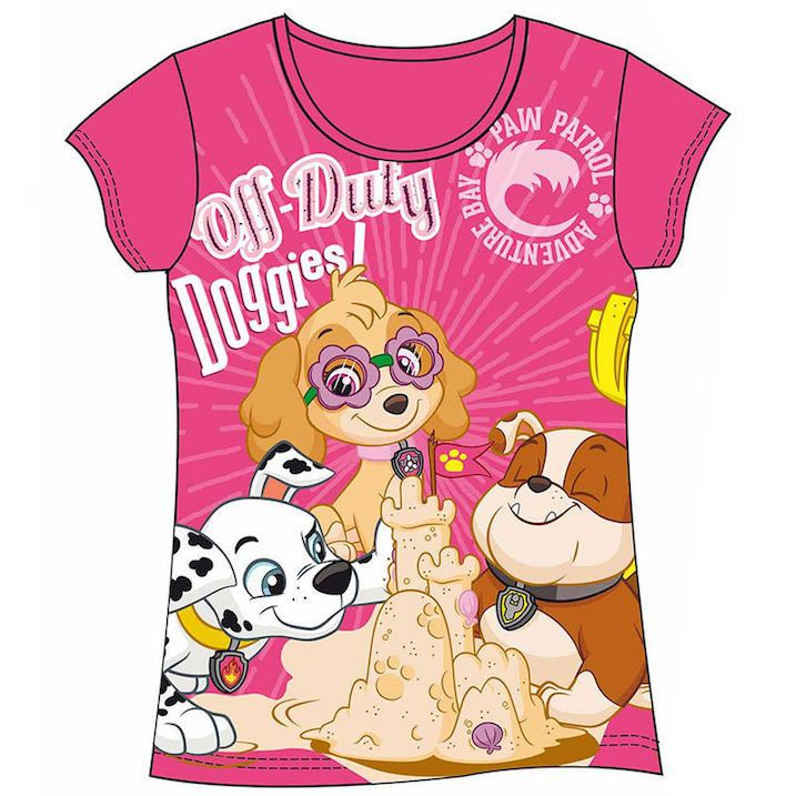 Girls Paw Patrol T Shirt