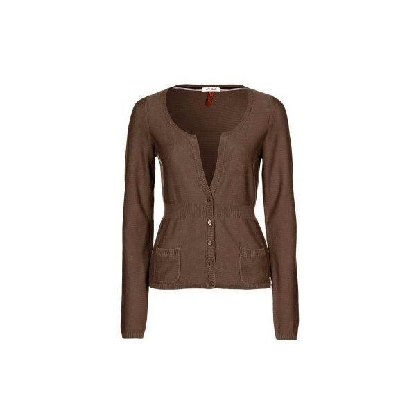 QS by s.Oliver Cardigan - brown - Zalando.co.uk found on Polyvore ...