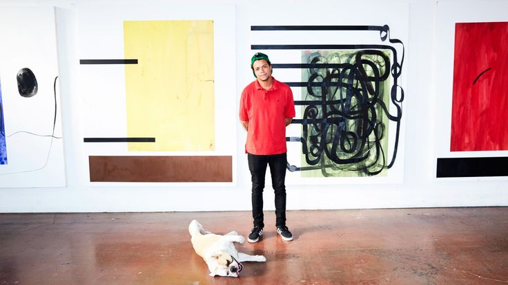 Christian Rosa On Painting for Jay-Z and Leonardo DiCaprio: We talked to Christian Rosa about everything from how he breaks through a creative block to his evolution as an artist, and Jay-Z and Leonardo DiCaprio.  |  coveteur.com