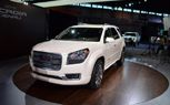 2013 GMC Acadia Denali Gets Surprise Unveil: 2012 Chicago Auto Show. For more, click http://www.autoguide.com/auto-news/2012/02/2013-gmc-acadia-denali-gets-surprise-unveil-2012-chicago-auto-show.html
