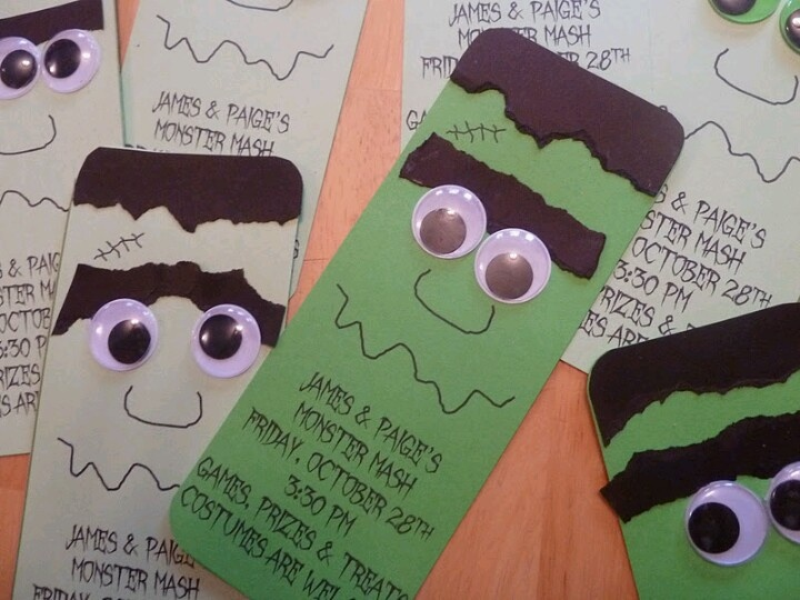 kids halloween party invite - Creative Halloween Party Invitations