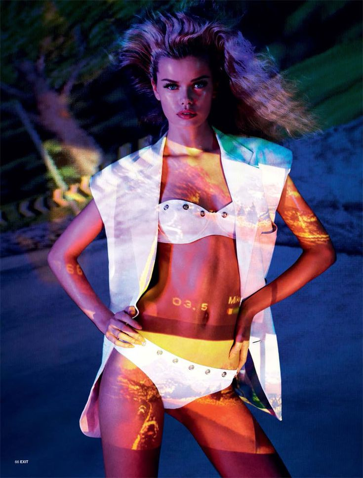 Frida Aasen is an Arcade Star for Exit S/S 2013 by Aitken Jolly. Tight  SuitSkin TightMagazine ...