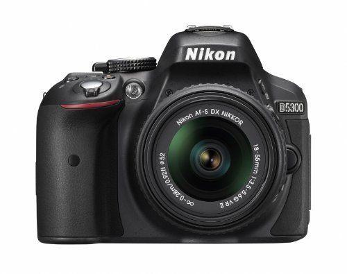 Nikon デジタル一眼レフカメラ D5300 18-55mm VR II レンズキット ブラック 2400万画素 3.2型液晶 D5300LK18-55VR2BK, http://www.amazon.co.jp/dp/B00I39A56O/ref=cm_sw_r_pi_awdl_o.XBub1VV8GBT