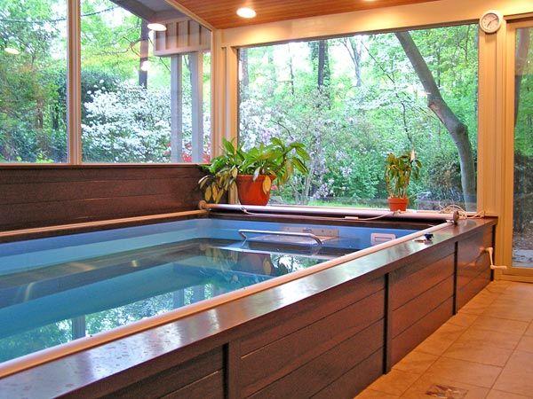 Endless Swimming Pool Designs. Latest Endless Pools Design. Indoor U ...