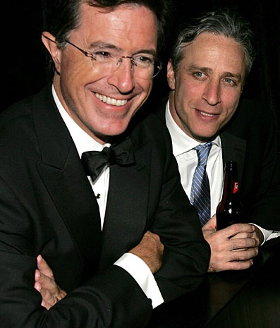 Two of my favorite people: Stephen Colbert and Jon Stewart!John Stewart, Colbert Report, Jon Stewart, Make Me Laugh, Admire, Stephen Colbert Funny, Funny Men, Stewart Colbert, Favorite People