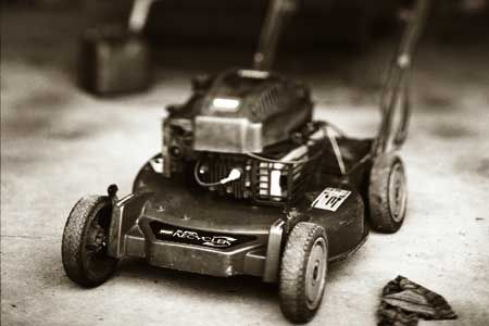 How to store your lawn mower for the cold season so it'll be in top shape come spring. | Photo: Kenneth Chen | thisoldhouse.com