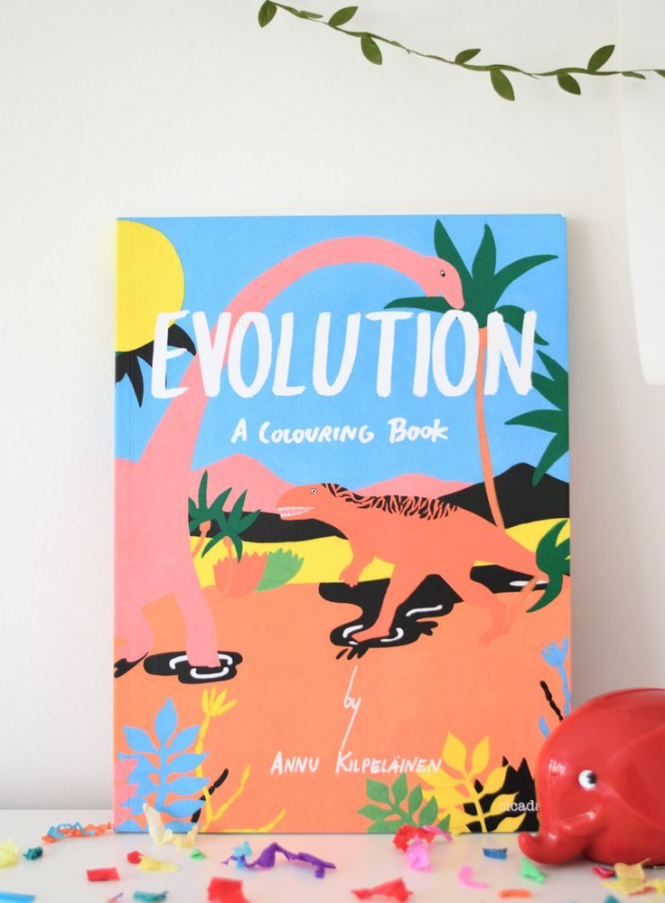 Evolution: A colouring book (and so much more)