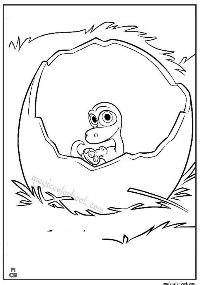 28 best The Good dinosaur Coloring pages images on
